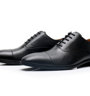 British Leather Shoes For Men With Formal Lace-Up And Low Tops