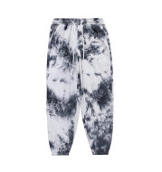 Corduroy Tie-Dye Beam Pants Men's Ins European And American Fashion Brand Elastic Waist Casual Pants Street Trend Loose Trousers
