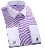 Cuff Shirt Business Shirt Stripes