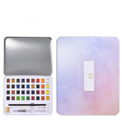 Pearlescent Solid Watercolor Paint Set Painting Portable Paint