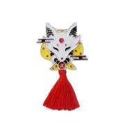 Japanese Style Enamel Pin Koi Squid Flag Brooch Backpack Clothing Lapel Pin Sushi Salmon Badge Cartoon Jewelry
