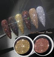 Glitter Flash Nails Crystal Diamond Powder Net Celebrity Vibrato