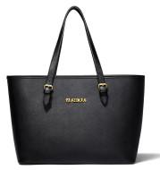 Women's Black Big Bag Portable European And American Ladies One Shoulder