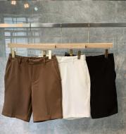 Men's Trousers Solid Color Shorts 5 Points Pants