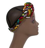Ladies Headband Plus Earrings 2-piece Ethnic Hair Accessories African Print Headband Headband