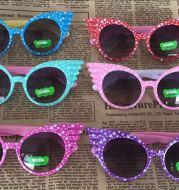 2018 New Korean Children Sunglasses 1383 Printing Angel Baby Sunglasses Manufacturer Glasses Wholesale