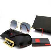 Unisex Sunglasses, Polygon Frame Sunglasses, Ferrari Team Cooperation