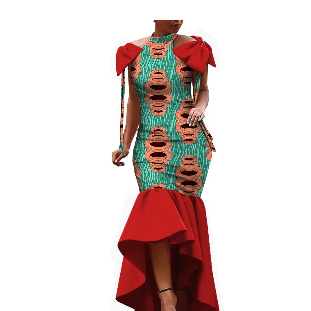 Robe en Batik de Coton Ethnique Africain