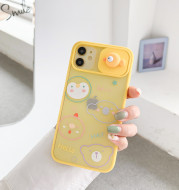 Creative New Cartoon Window Mobile Phone Case For iPhone11ProM Mobile Phone Case Apple 7P Frosted Protective Cover