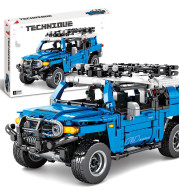 Building Block Off-road Vehicle Model Toy