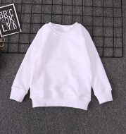Sweater Boys Spring And Autumn Pure Cotton Children's Bottoming Shirt girls Fashion Tops Big Kids Pullovers