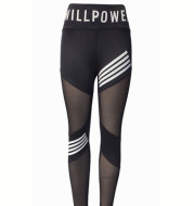 Womens Hip-Lifting High-Waist Mesh Sweatpants Yoga Pants