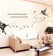 Bedroom Sofa Romantic Children's Room Cartoon Decoration Layout Wall Sticker Angel