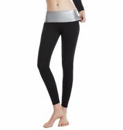 Women s Ninth Yoga Pants With Silver Coating Sweatpants