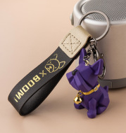 Keychain Female Cute Small Couple Niche Female Ins Net Red Exquisite Female Car Couple Models