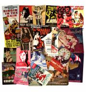 European And American Nostalgic Retro Poster Stickers