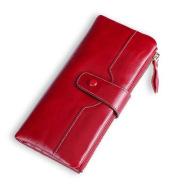Wallet European And American Fashion Mobile Phone Bag Leather Handbags