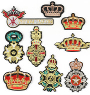 Crown Cloth Sticker Badge Styling Patch High-End Boutique Clothing Accessories Can Be Customized Processing