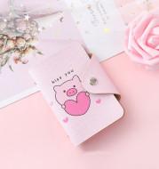 Pink Pig Card Bag