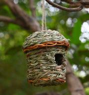 Creative Straw Birds Nest Handicraft Hand-Woven Straw Bird Cage