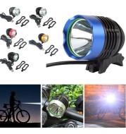 USB External Connector Light Mountain Bike Light l2 Strong Light Head