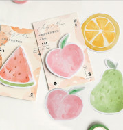 Fruit Shape Cute And Creative Memo Pad