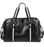 Retro Men's Portable Official Document Messenger Shoulder Bag Fashion Travel PU Leather