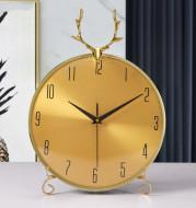 Modern Minimalist Living Room Desktop Decoration Ornaments Creative Agate Mute Clock