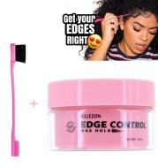 Edge control sideburns hair wax finishing cream permanent non greasy sideburns hair oil spot supply