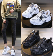 New Spring And Autumn All-Match Net Face Old Shoes Women