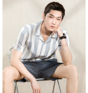 Youth Short-Sleeved Shirt Summer Custom Tencel Inch Shirt