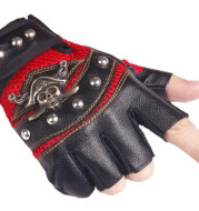 Hip hop Break Dancing Sport Riding Skull Gloves
