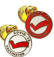 Creative Medical Series Brooch COVID-19 Vaccine Planting Commemorative Logo Badge