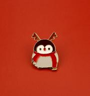 Penguin Brooch Cute Japanese Couple Cartoon Badge Pin Collar Pin Bag Decoration