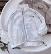 Lightweight Zipper Loose Sun Protection Jacket