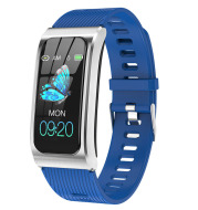 Cross-Border Hot Style Color Screen AK12 Smart Watch Heart Rate Monitoring Bluetooth Sports Bracelet Factory Direct Sales Dropship
