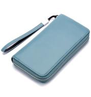 Leather Long Wallet Leather Wallet Men Clutch Bag Zipper Clutch Bag
