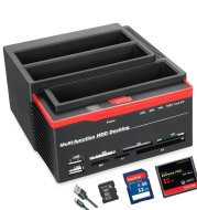 Factory Supply 2017 Model Functional Hard Disk Base Usb2.0 Sata Ide Interface With Card Reader