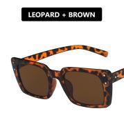 Mi Nail Narrow Frame Square Sunglasses Sunglasses