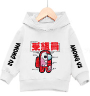 Print Cute Cartoon Hoodie Sweater Boy Girl