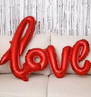 43-inch One-piece Love Balloon Aluminum Film Letter Balloon