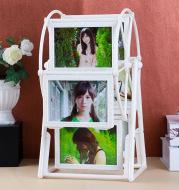 Handmade Custom Photo Windmill Rotating Photo Frame Set-Up Photo Album