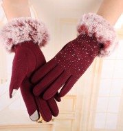 A Glove With a Hairy Mouth Full Of Stars