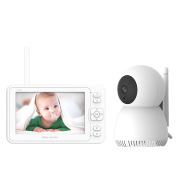 5 Inch Large Screen Baby Monitor Baby Monitor Home 1080P High-Definition Baby Care Device