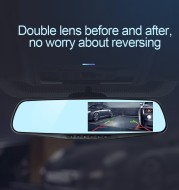 3.5 Inch Rearview Mirror Car Driving Recorder High List Lens