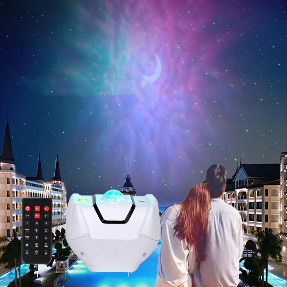 Starry Sky Projector Lamp Remote Control Graffiti Starry Sky