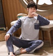 Men's Long Sleeve Comfortable Loose Pajama Set