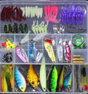 Fishing Gear Sequined Soft Bait Set