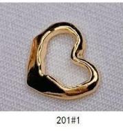 Empty Circle Nail Jewelry Nail Sticker