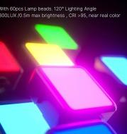 Ulanzi Excellent Basket VL49 Mini RGB Fill Light Pocket Portable Small Led Vog Full Color Light